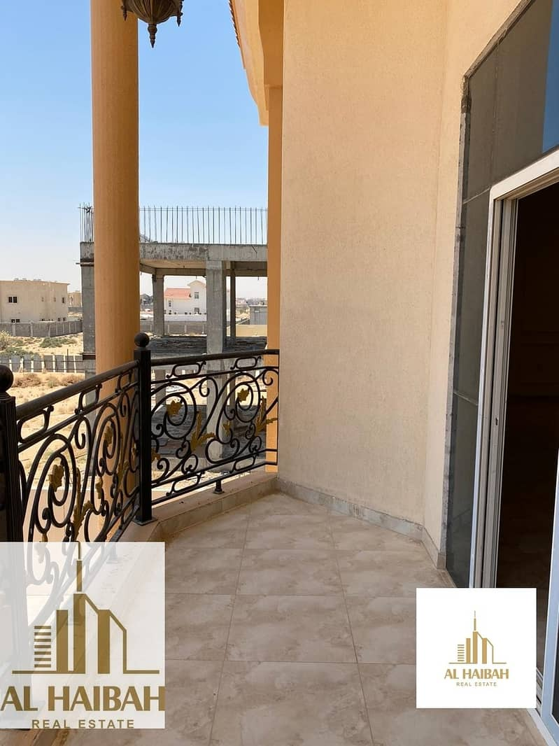 29 For rent a new two-storey villa in Rahmaniyah 7 great location