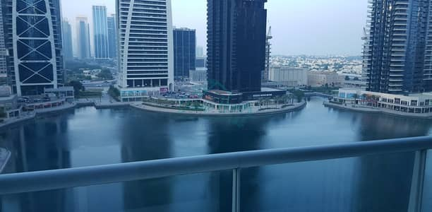 Studio for Rent in Jumeirah Lake Towers (JLT), Dubai - Next to Metro | Equipped Kitchen | Full Lake View