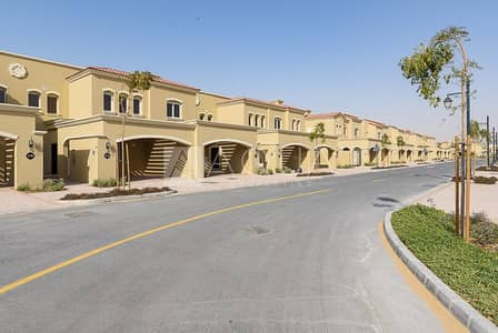 3 Bedroom Townhouse for Rent in Serena, Dubai - 3 Bedroom + Maid   Single Row   Vacant