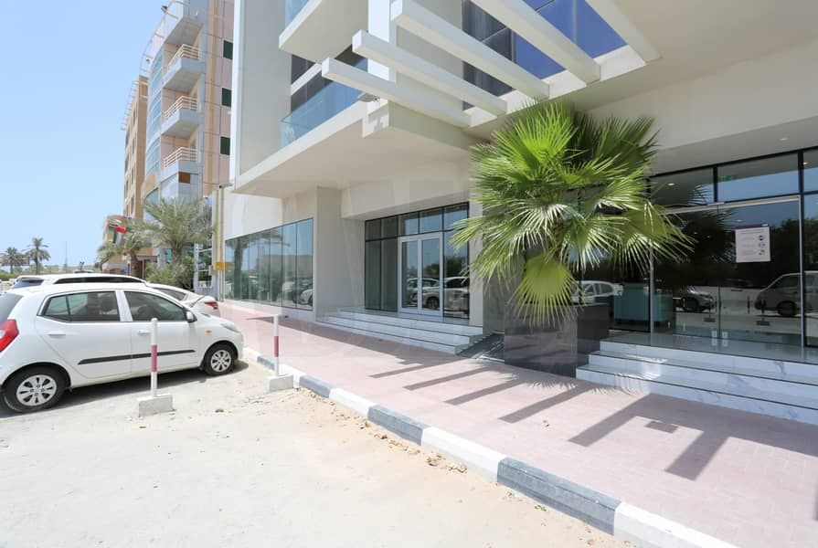 2 60 Dhs PSF | Road facing Shop | Good Exposure