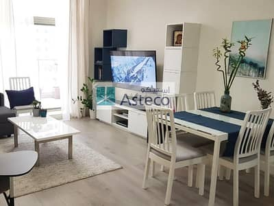 شقة 1 غرفة نوم للايجار في مدينة دبي الرياضية، دبي - Fully Furnished 1 Bed | Balcony | Great Location