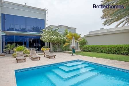 Full Size Plot | Modern Style| Private Pool