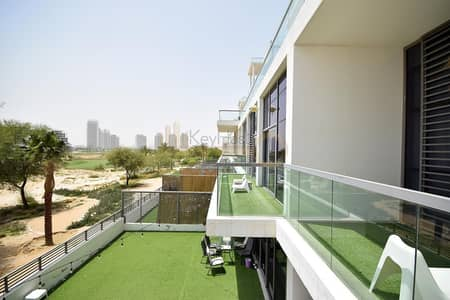 3 Bedroom Townhouse for Rent in DAMAC Hills (Akoya by DAMAC), Dubai - Full Golf View Townhouse | One of a Kind Golf Panorama