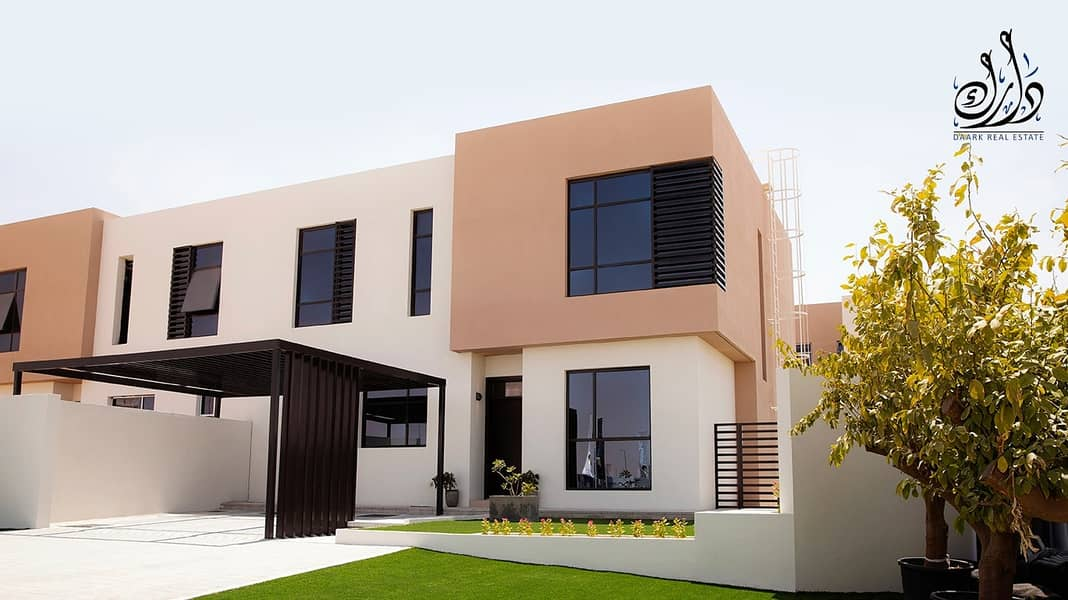 A very luxurious villa in the heart of Sharjah