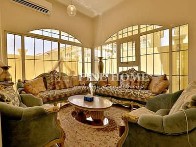 4 Bedroom Villa for Sale in Baniyas, Abu Dhabi - SUPERB 4 MBR Villa with External Extension&Garden