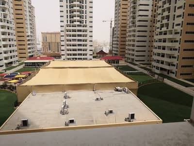 MIND BLOWING STUDIO 660 SQFT FOR RENT IN AJMAN ONE TOWERS WITH CAR PARKING ONLY FOR 16000 IN CHEQUES