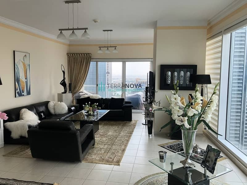 Furnished   Large 1 Bedroom   High Floor