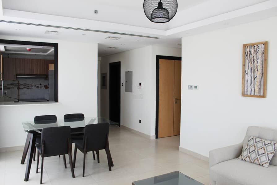 Luxuriously Furnished 2BR on a High Floor | Ready to Move In | 1 Month Free