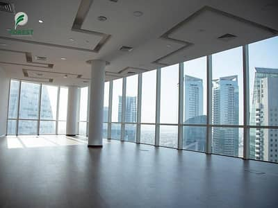 Office for Rent in Business Bay, Dubai - Vacant | Unfurnished | Lake View | High Floor