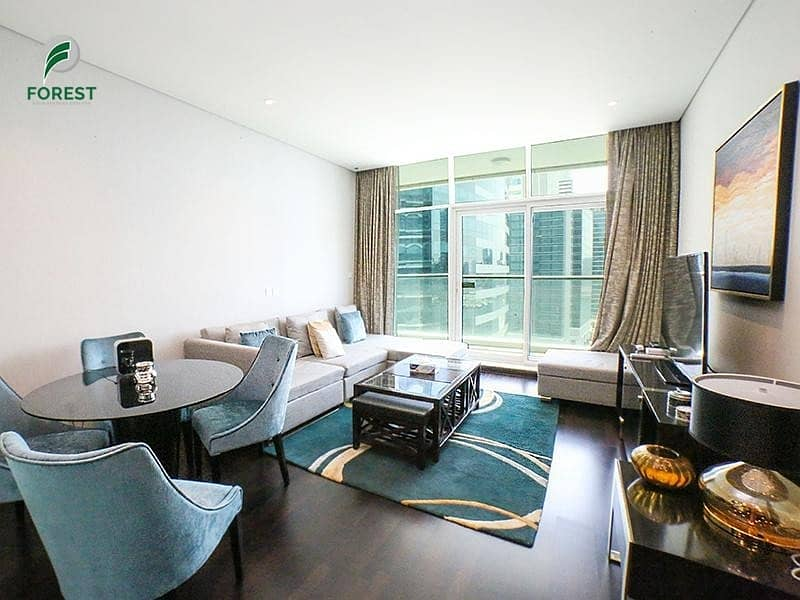 Exclusive Luxurious Furnished Apartment   2BR   Canal View