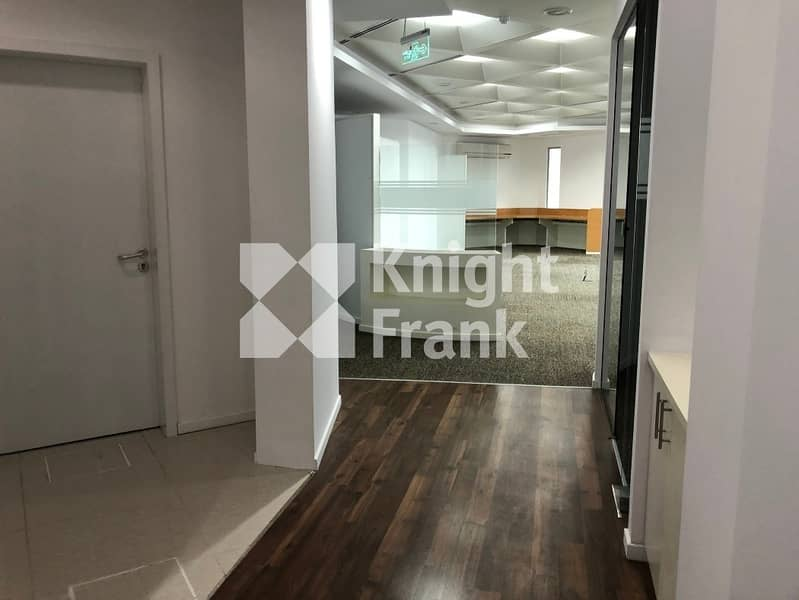 2 Fitted Offices for Lease on Hamdan Street