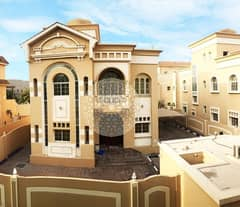 SURPRISING 5 BEDROOM COMPOUND VILLA WITH DRIVER ROOM AND MAID ROOM FOR RENT IN AL MAQTAA