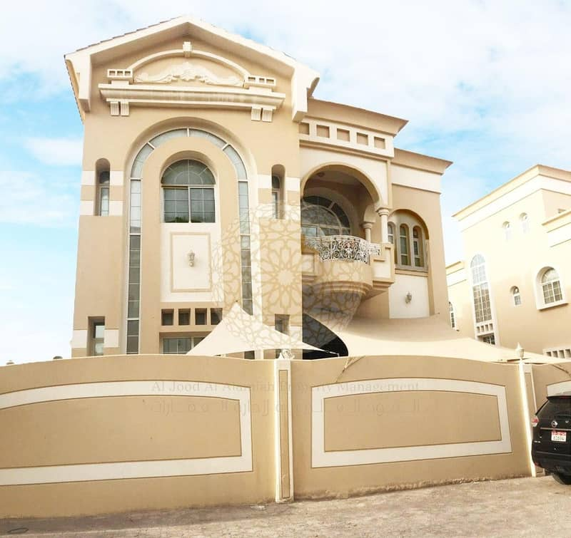 2 SURPRISING 5 BEDROOM COMPOUND VILLA WITH DRIVER ROOM AND MAID ROOM FOR RENT IN AL MAQTAA