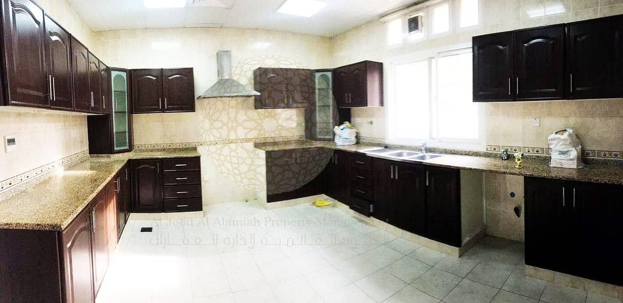 28 SURPRISING 5 BEDROOM COMPOUND VILLA WITH DRIVER ROOM AND MAID ROOM FOR RENT IN AL MAQTAA