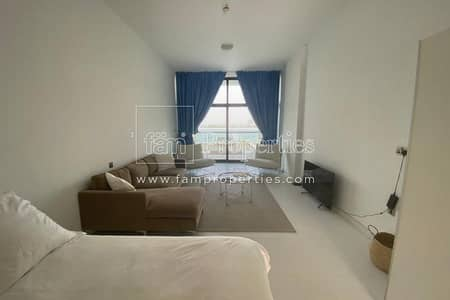 Studio for Rent in Palm Jumeirah, Dubai - Furnished | Vacant | Full Sea View | Chiller Free