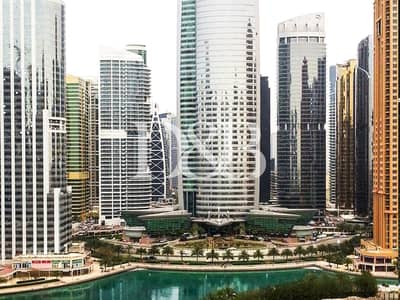 2 Bedroom Flat for Sale in Jumeirah Lake Towers (JLT), Dubai - Upgraded 2 Bed | Full Lake View | Fully Furnished