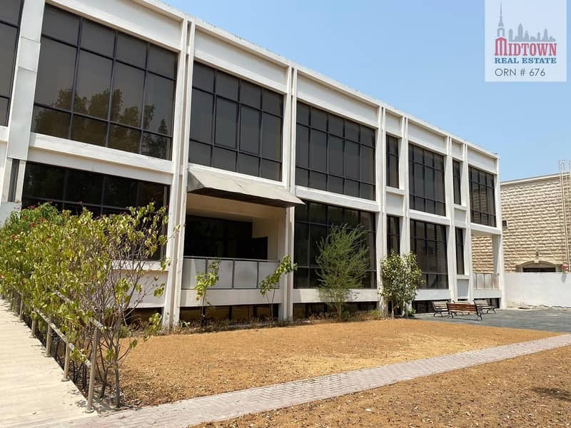 2 Specious Size B+G+1 Commercial villa available for rent in al safe 2 Jumeirah