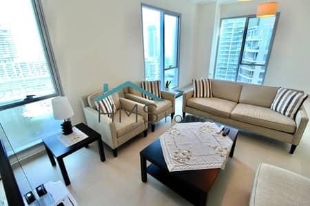 شقة 2 غرفة نوم للبيع في دبي مارينا، دبي - Vacant | Amazing Marina Views | High Floor