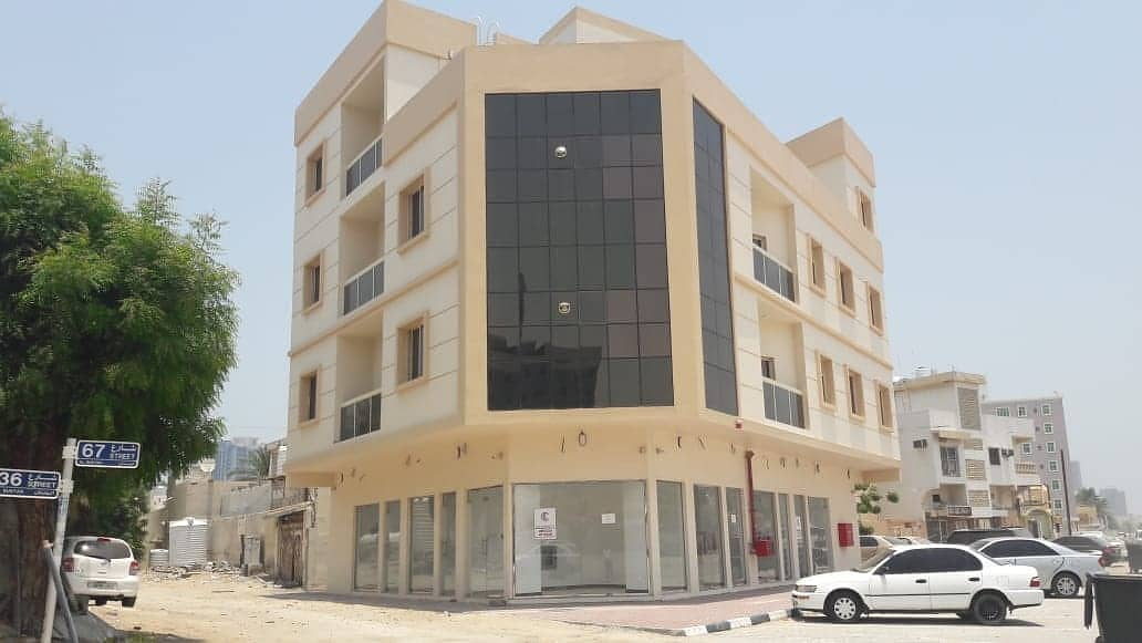 A building opportunity for sale in the new Al Bustan area, the first corner of three streets, with a very special location for real estate investment owners, we are honored to serve you