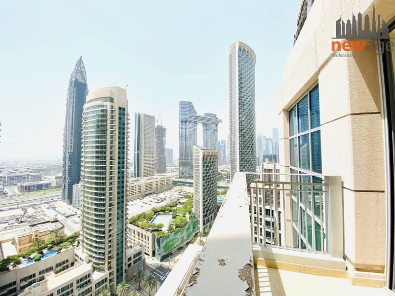 2 Sea facing Burj View one bedroom for rent in Standpoint Tower A