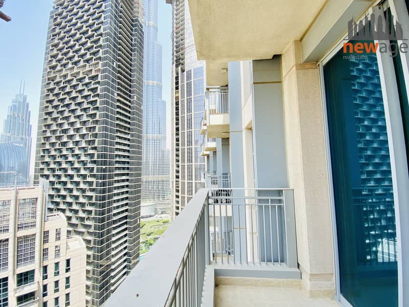 Sea facing Burj View one bedroom for rent in Standpoint Tower A