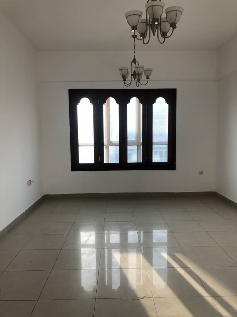 Spacious Apartment, 2BR , Master Bed Room and 2 Balconies.