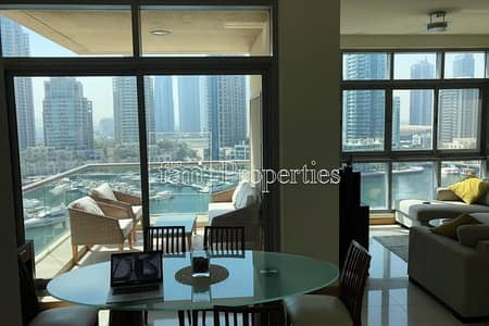 2 Bedroom Flat for Sale in Dubai Marina, Dubai - 2 Bed | Full Marina view | Fully furnished