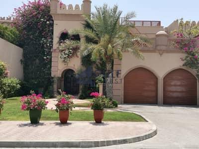 فیلا 3 غرف نوم للايجار في نخلة جميرا، دبي - 3 BR PLUS MAID WITH PARK AND TERRACE CANAL VIEW