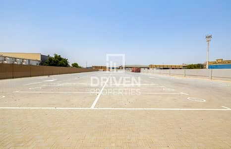 Plot for Rent in Al Quoz, Dubai - Well-managed Open Yard with Prime Location