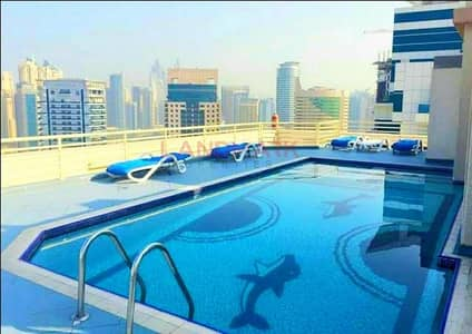 1 Bedroom Flat for Rent in Dubai Marina, Dubai - Lighting 1 Bedroom l Fully Furnished l 2 Balcony  l Ready to Move