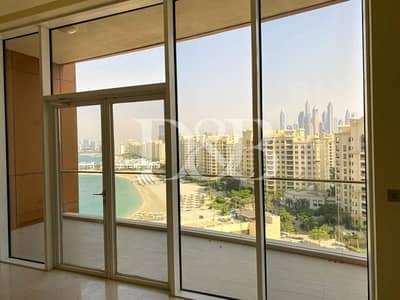 3 Bedroom Apartment for Rent in Palm Jumeirah, Dubai - Sea View | Vacant Now | 45 Days Free | High Floor