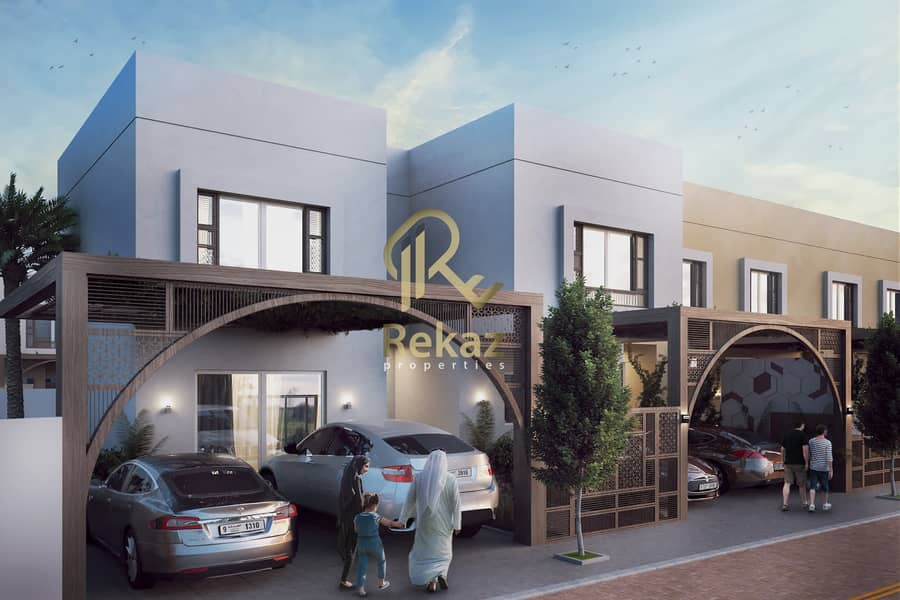 Own your luxury villa in Sharjah in the first project without electricity fees