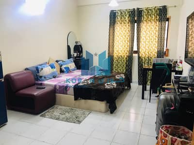 Studio for Rent in Bur Dubai, Dubai - Fully furnished Studio Apartment For Families