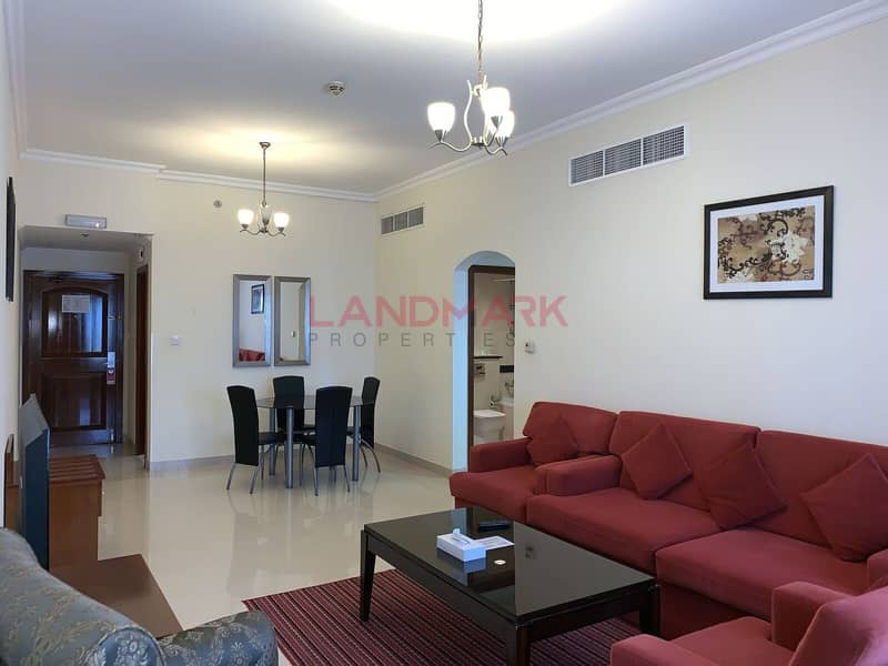 2 B/R  in TECOM For Rent