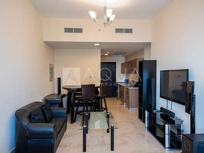 استوديو  للايجار في أبراج بحيرات الجميرا، دبي - Spacious Fully Furnished Studio Apartment