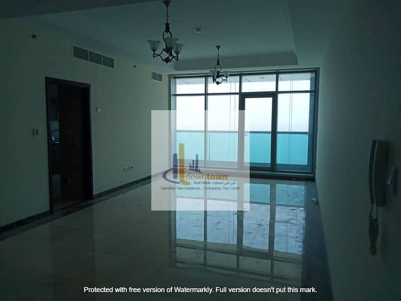 Now the duplex villa has full sea view  Down payment 70,000 in the Corniche Residence Residence and installments over 7 years
