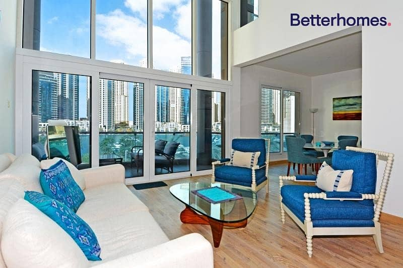 Marina View | Unfurnished | Available | Upgraded