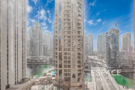 3 Bedroom Apartment for Sale in Jumeirah Beach Residence (JBR), Dubai - Large 3Bed Apartment Marina View Ready to move-in