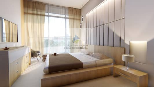 Studio for Sale in Dubai Studio City, Dubai - own with 1 % monthly payment .