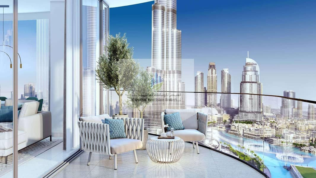 Own your unit at DOWNTOWN with 5 yrs post hand over
