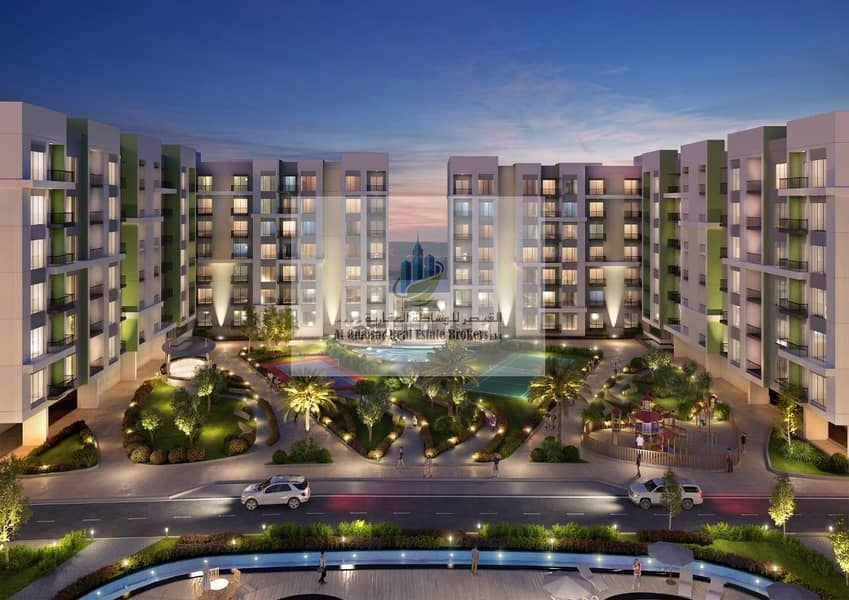 Pay 6000 AED  monthly and own YOUR UNIT