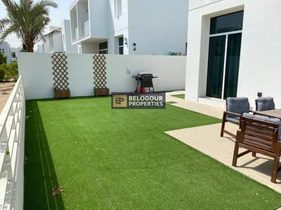 Single Row /Semi Detached/Type A /with landscaping  Garden/Near to Pool/3bed+maid Big Size/115k
