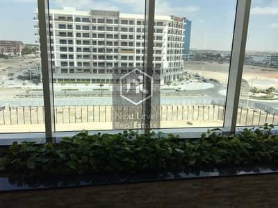 استوديو  للايجار في مدينة دبي للاستديوهات، دبي - Brand New Studio in Glitz 3 - Semi Furnished - Hanging Balcony & Parking
