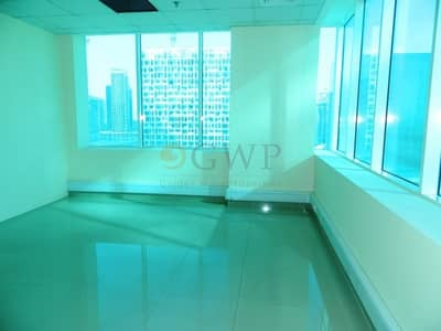Office for Rent in Business Bay, Dubai - Sparkling Bright |Glass Partitioned|1655 Sq.Ft.