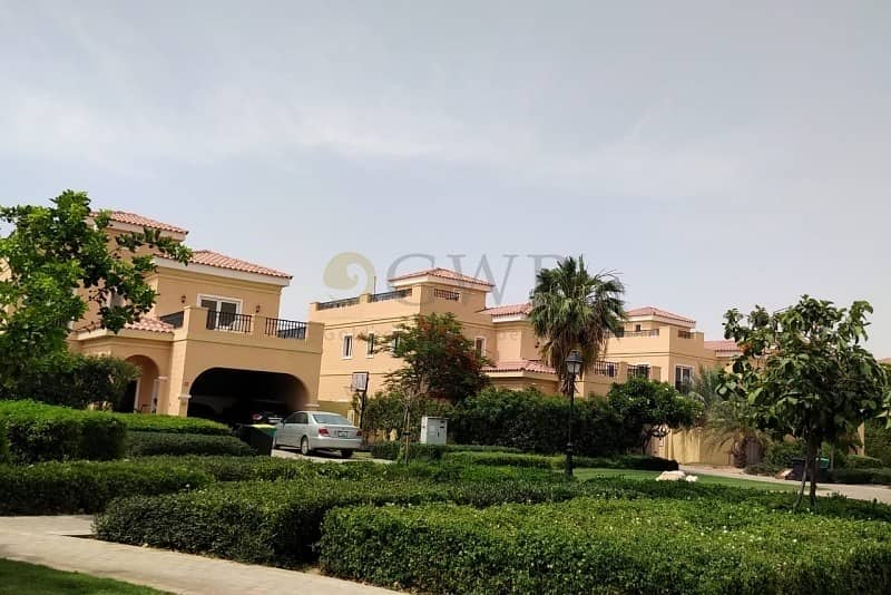 2 Mazaya A1 | Private Pool | Hacienda | Park view | Single Row |