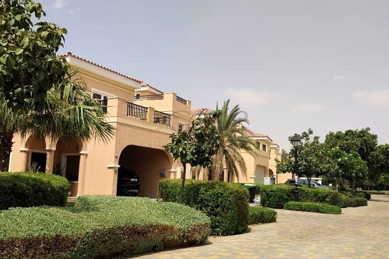 16 Mazaya A1 | Private Pool | Hacienda | Park view | Single Row |
