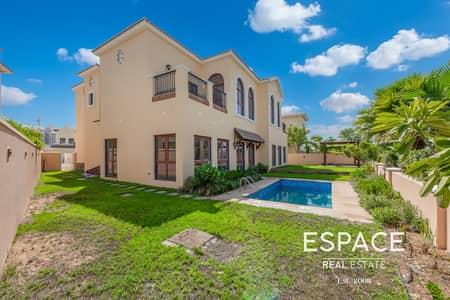 5 Bedroom Villa for Sale in Jumeirah Golf Estate, Dubai - Stunning Golf View 5 Beds On Huge Plot