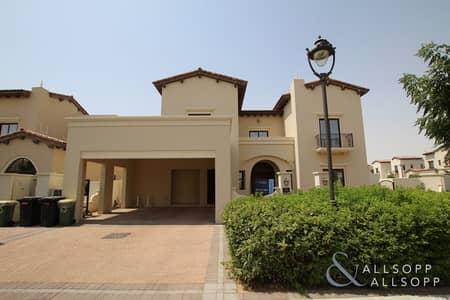 فیلا 4 غرف نوم للبيع في المرابع العربية 2، دبي - Vacant | Large Corner Plot | 4 Bedroom