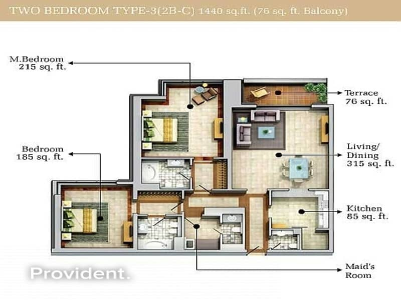 21 Spectacular Full Lake View Beautiful Two Bedrooms