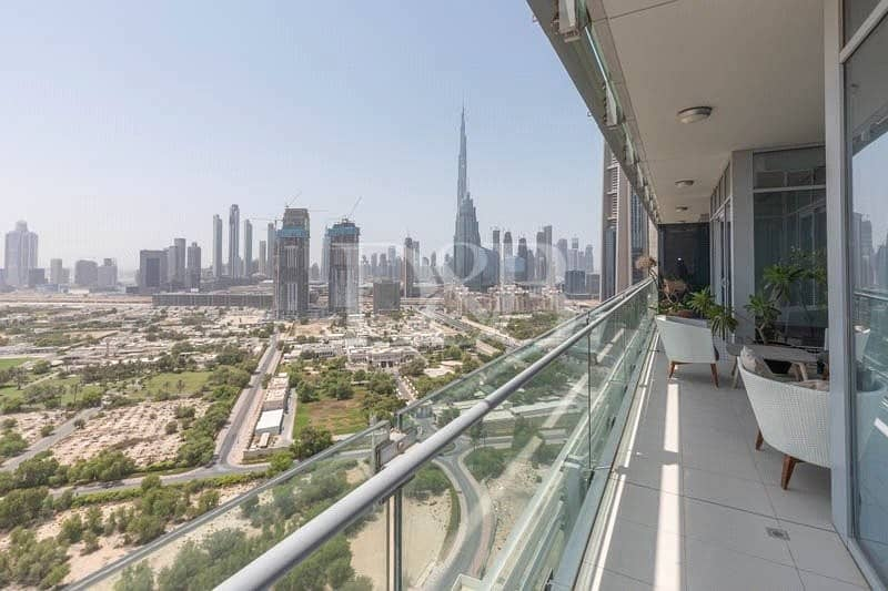 Incredible Zabeel And Burj Khalifa Views